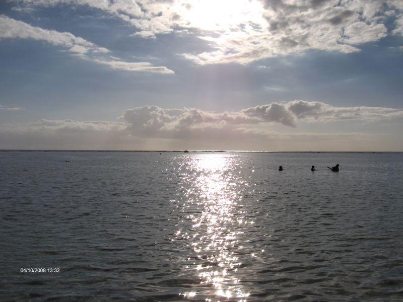 C te ouest la plage de l hermitage de lille l le de la r union - Le soleil se couche a l ouest ...